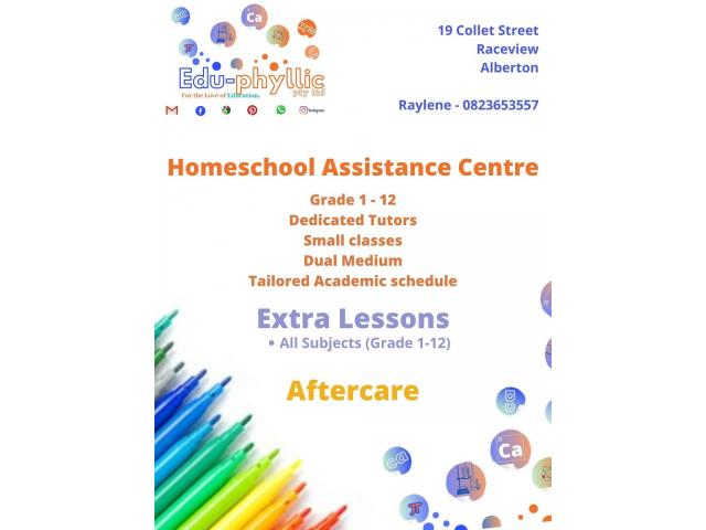 Homeschooling and Tutoring/Extra Lessons Tutor and Lessons Services in Alberton - 1/2