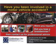 Geldenhuys Inc - Motor Vehicle Accident Claims Specialists