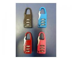 Travel Zipper Locks