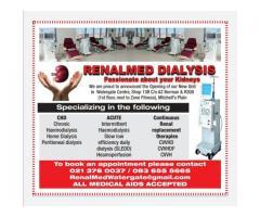 !!Renalmed Watergate Dialysis!!   Home Dialysis