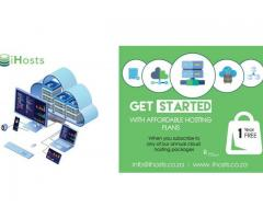 Affordable hosting plans from IHosts.