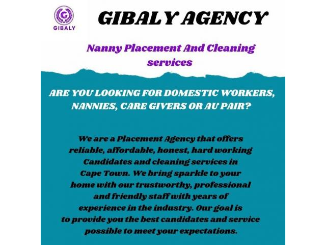 Cleaning Services and Nanny Placements - 1/2