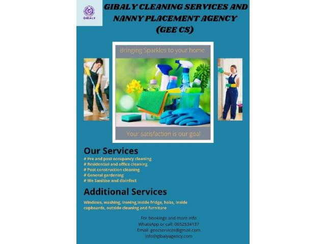 Cleaning Services and Nanny Placements - 2/2