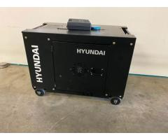 Hyundai 7.9kVA Soundproof Diesel Generator