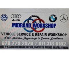 Midrand Vehicle Workshop