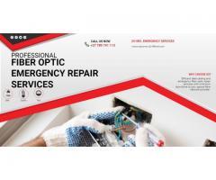Optic fiber repair