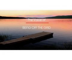 BEING OFF THE GRID | SOLAR, WIND, WATER and GAS products
