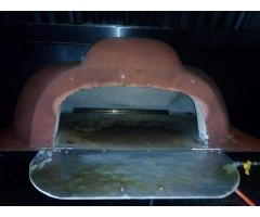 pizza oven and dough mixer