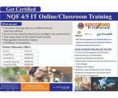 NQF Accredited online courses