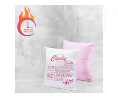 Personalized New Born Scatter Cushions