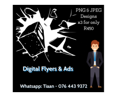 Digital Flyers and Ads