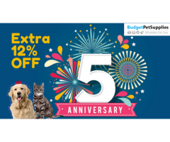 It's Budget Pet Supplies 5th Birthday