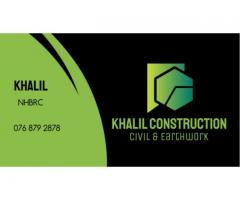 Khalil Construction Civil and Earthworks | Repair and Renovate