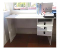 Large, solid and good as new study desk for sale