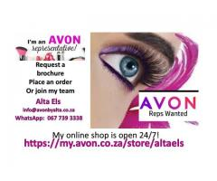Visit our AVON store today