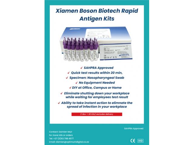 Covid-19 Rapid Antigen Test Kits - 2/2