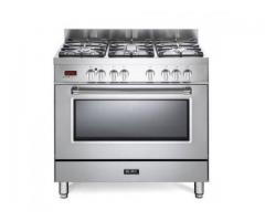 Elba 90cm Stainless Steel Gas / Electric Cooker - Model: 01/9S4EX937N