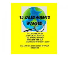 SALES REPS WANTED