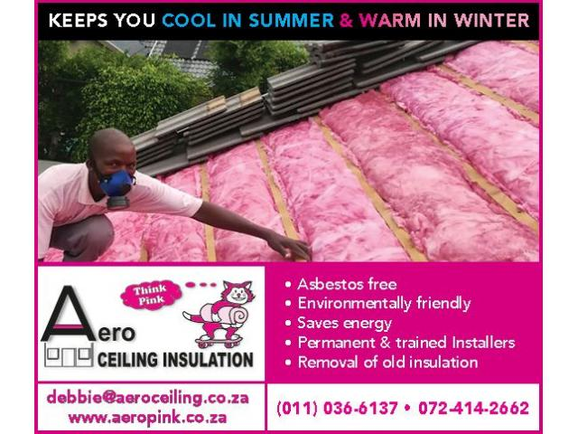 Aero Ceiling Insulation - 1/4