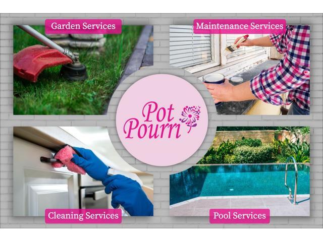 Pot Pourri Property Management | Garden Services | Property Maintenance Services - 1/1
