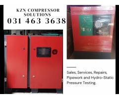7.5kw Industrial Screw Compressor + Dryer + Air Receiver