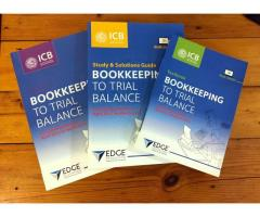 ICB Books - Bookkeeping textbook, study guide and workbook set