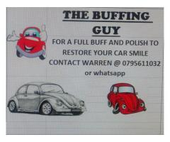 The buffing guy
