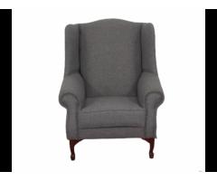 Buy Wingchair - Grey Fabric | HG BAVA