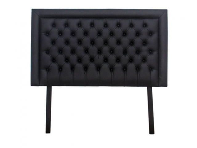 Buy Nadine Headboard – Double/Queen – Black Studded Buttons | HG BAVA - 1/1
