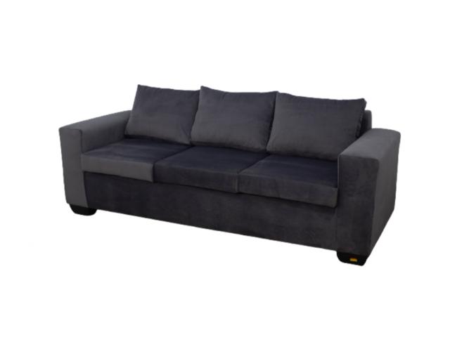 Buy Jody 3 Seater Sofa - Grey - Velvet | HG BAVA CC - 2/2