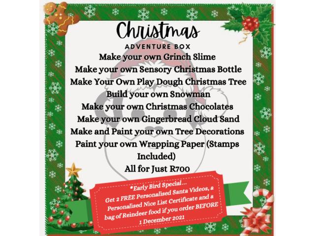Christmas 2012 Adventure Box - 1/3
