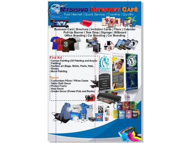 Paper Printing, Photocopies, Business Cards and Flyers Printing in Boksburg Benoni - 1/1