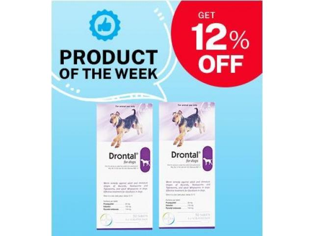 Amazing Deworming Tablet for Dogs | Drontal on 12% OFF!! - 1/1