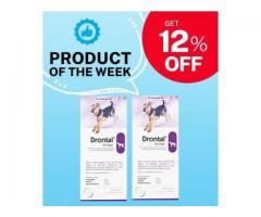 Amazing Deworming Tablet for Dogs | Drontal on 12% OFF!!