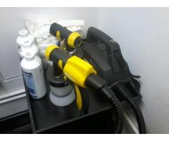Spray tanning equipment