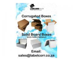 Packaging In Pinetown, Durban - Labelcorr (Pty) Ltd