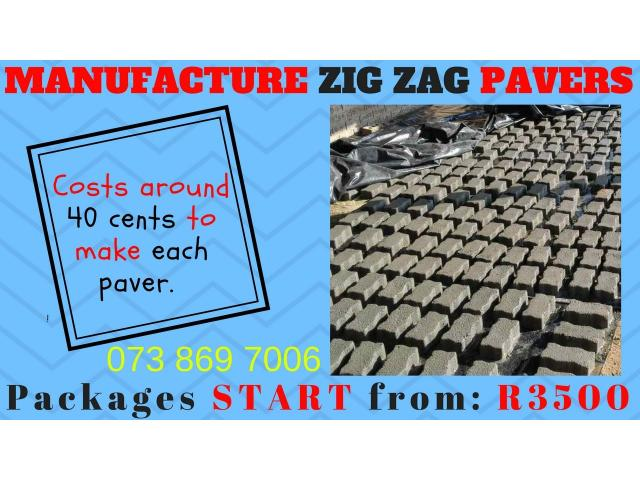 Paving Manufacturing BUSINESS FOR SALE! - 1/1