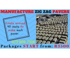 Paving Manufacturing BUSINESS FOR SALE!