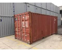 40` GP or HC (12m) Used (Cargo worthy for exports and storage)