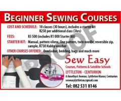 Beginner Sewing Course