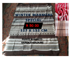 BLANKET PROMOTIONS/WINTER WARMERS