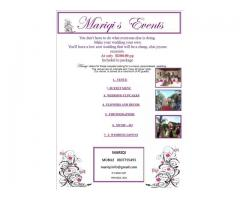 MARIQI'S  EVENTS  - LOW COST AND AFFORDABLE