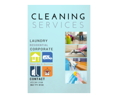 Professional, reliable cleaning services