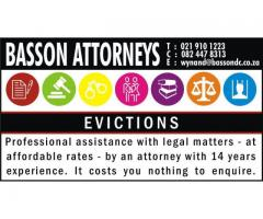 EVICTIONS: ATTORNEY
