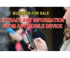 Mobile cellphone extractions and evidence company R 430 000