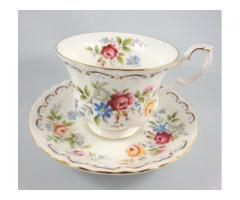 Jubilee Rose Royal Albert Teaset
