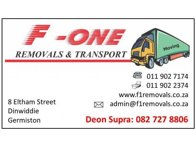 Furniture Removals - 1/2