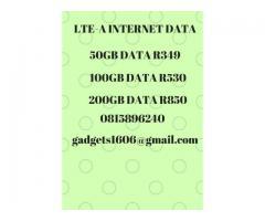 Cellc LTE Data Sim