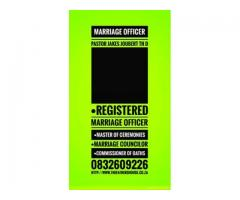 Marriage Officer