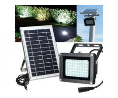 SOLAR OUTDOOR FLOOD LIGHTS - AVAILABLE IN 20W - 30W AND 50W